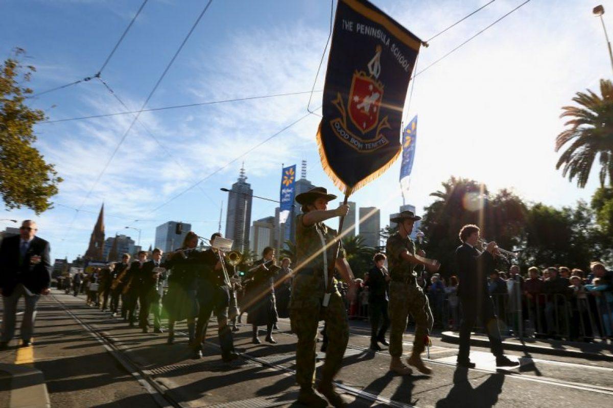 Este insitó a un niño de Australia a atentar a un policía en un desfile. Foto:Getty Images. Imagen Por: