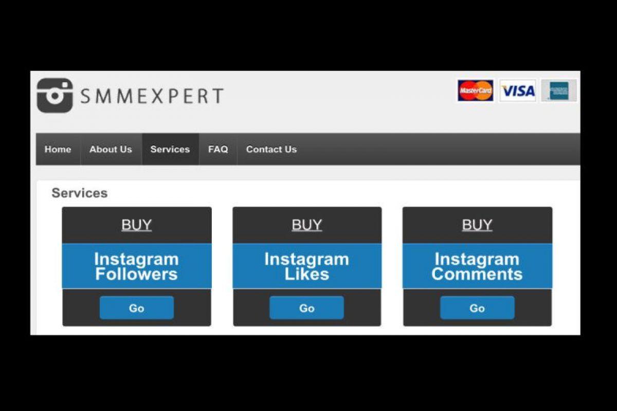 En ella upeden comprar likes, seguidores y comentarios Foto:followgram.net/. Imagen Por: