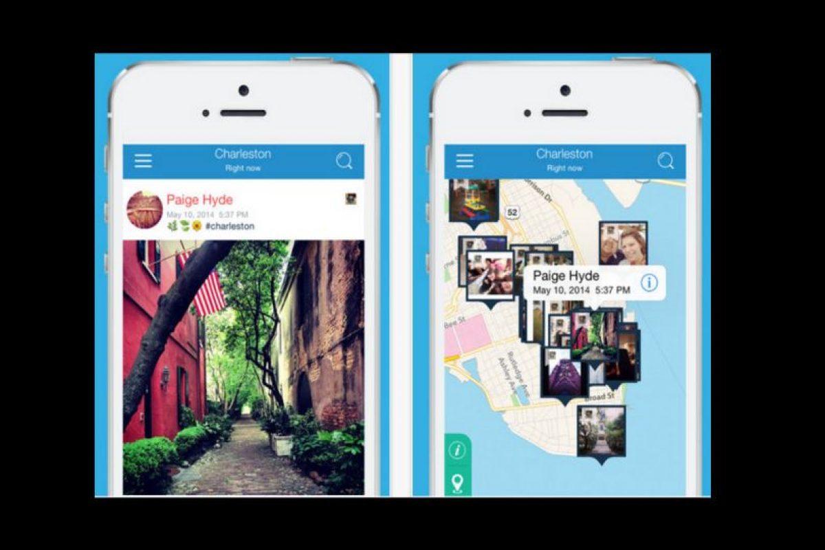 Pixifly ubica lo que necesitan mediante la fecha y locación desde iOS Foto:Pixifly. Imagen Por: