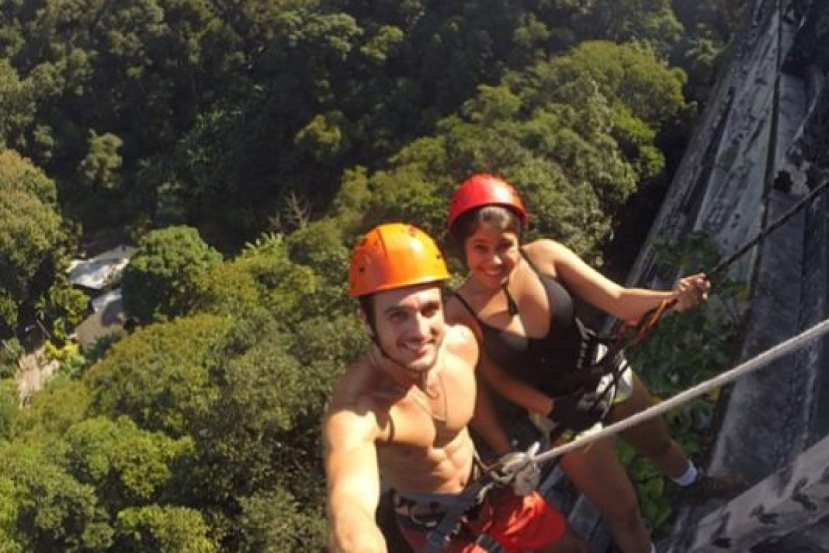 Tienen 23 y 18 años y se conocieron escalando. Foto:vía Instagram. Imagen Por: