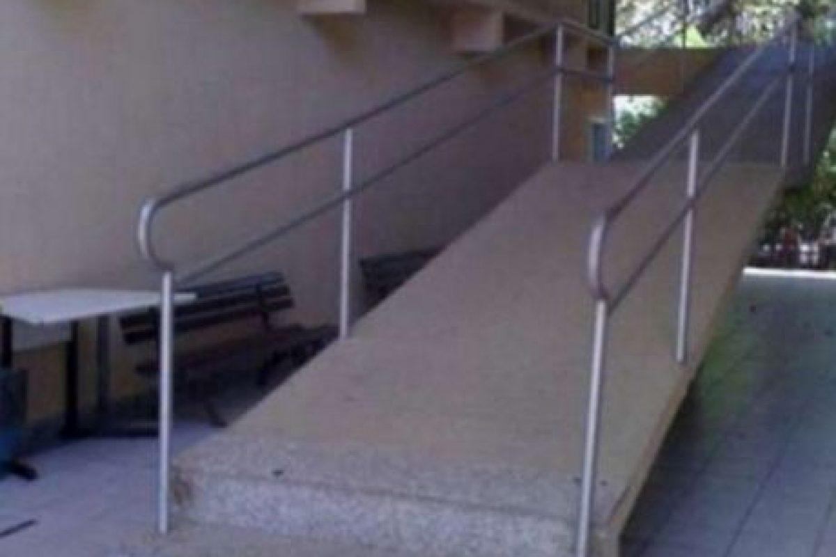 ¿Y las escaleras como para qué? Foto:Pinterest. Imagen Por: