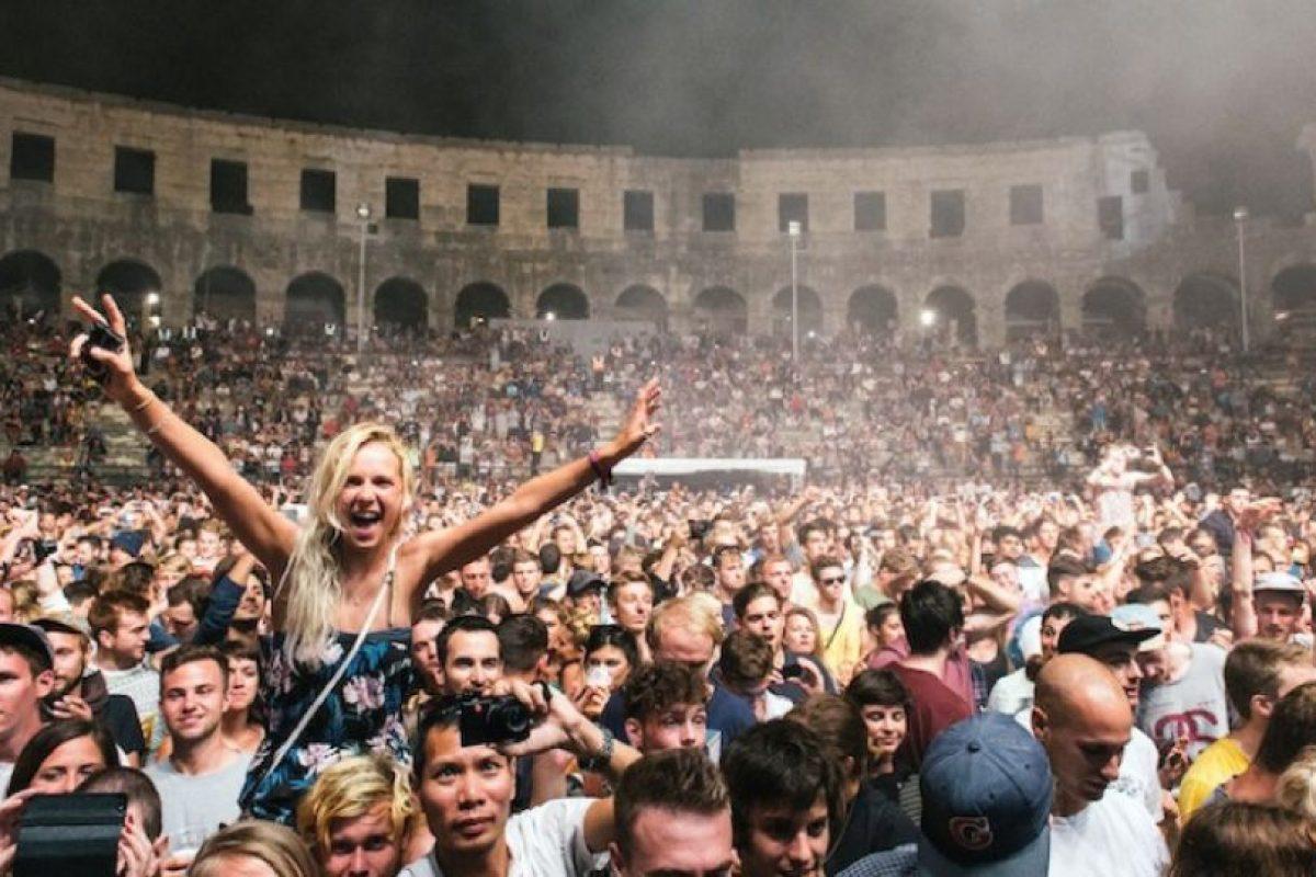 1. Anfiteatro romano en Croacia Foto:Vía Twitter. Imagen Por: