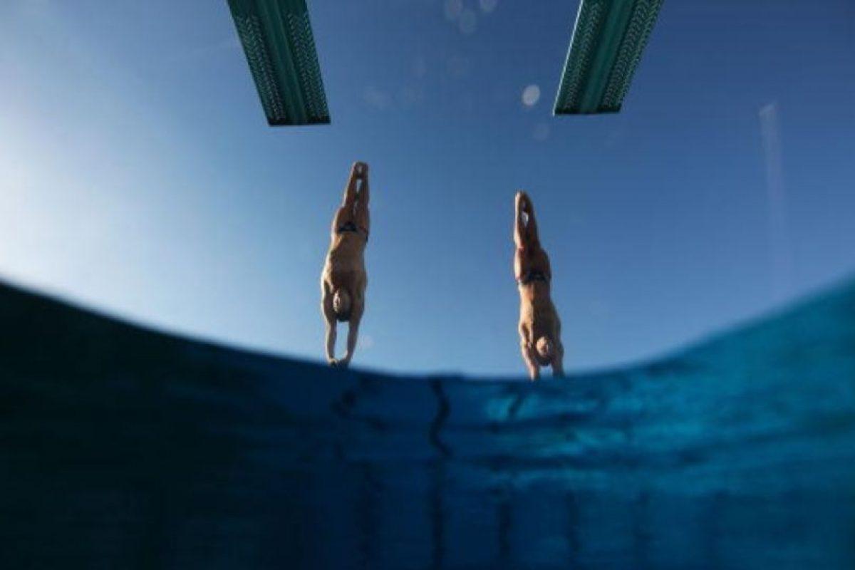 Los Juegos Olímpicos acogieron por primera vez a los saltos de trampolín como disciplina en 1904. Foto:Getty Images. Imagen Por: