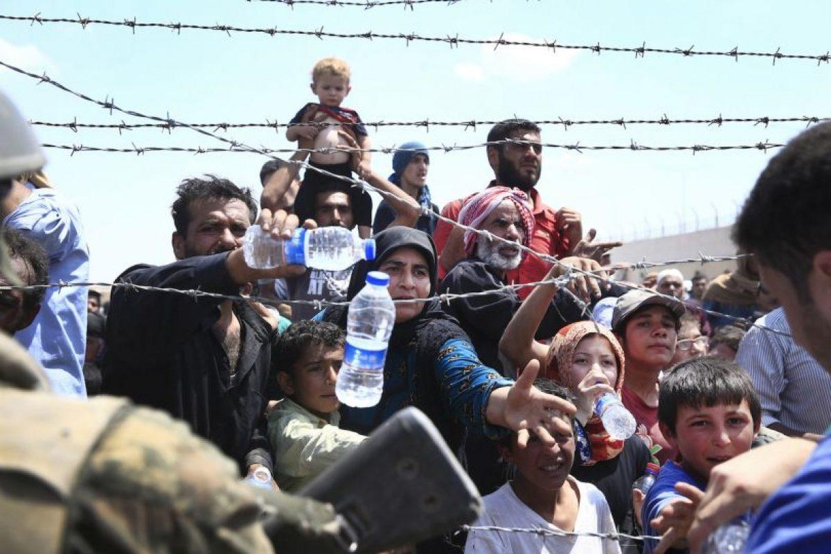 Miles de refugiados sirios han llegado a Turquía. Foto:AP. Imagen Por: