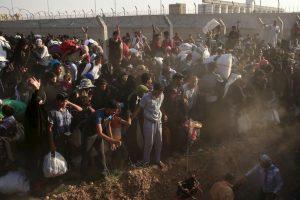 El número de refugiados sirios ya sobrepasa los cuatro millones. Foto:AP. Imagen Por: