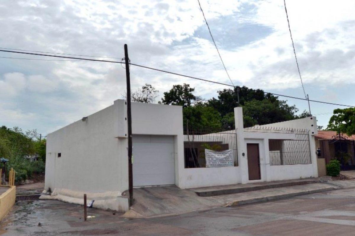 """Esta es la casa de """"El Chapo"""" Guzmán en Culiacán, Sinaloa. Foto:AFP. Imagen Por:"""