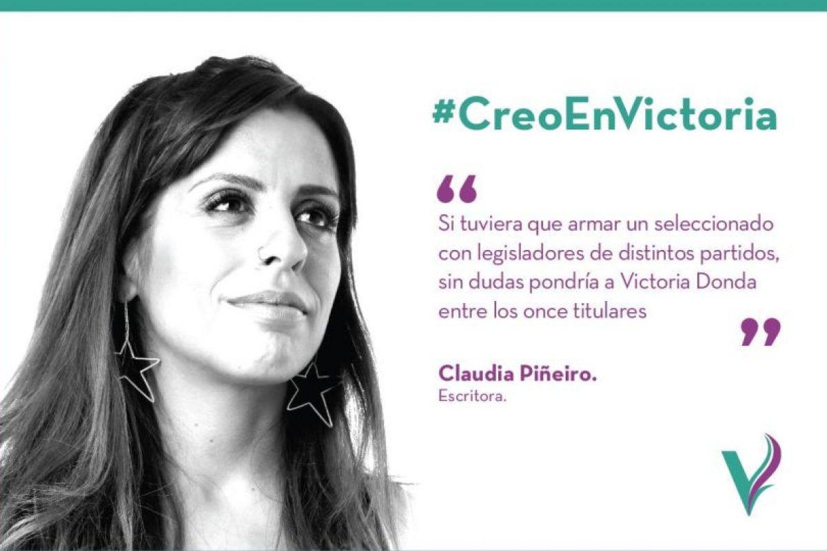 Foto:Facebook.com/pages/Victoria-Donda-Pérez. Imagen Por: