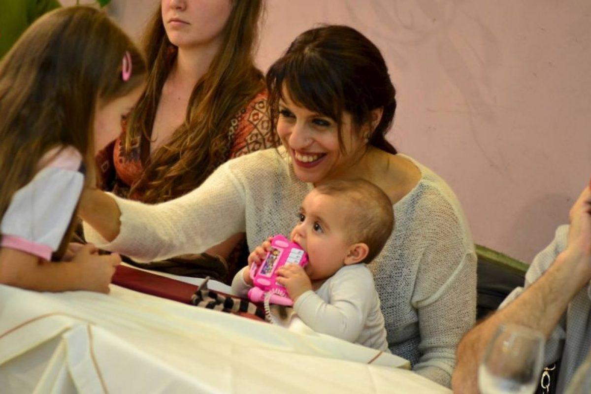 Trilce, presente en las actividades de su madre. Foto:Facebook.com/pages/Victoria-Donda-Pérez. Imagen Por: