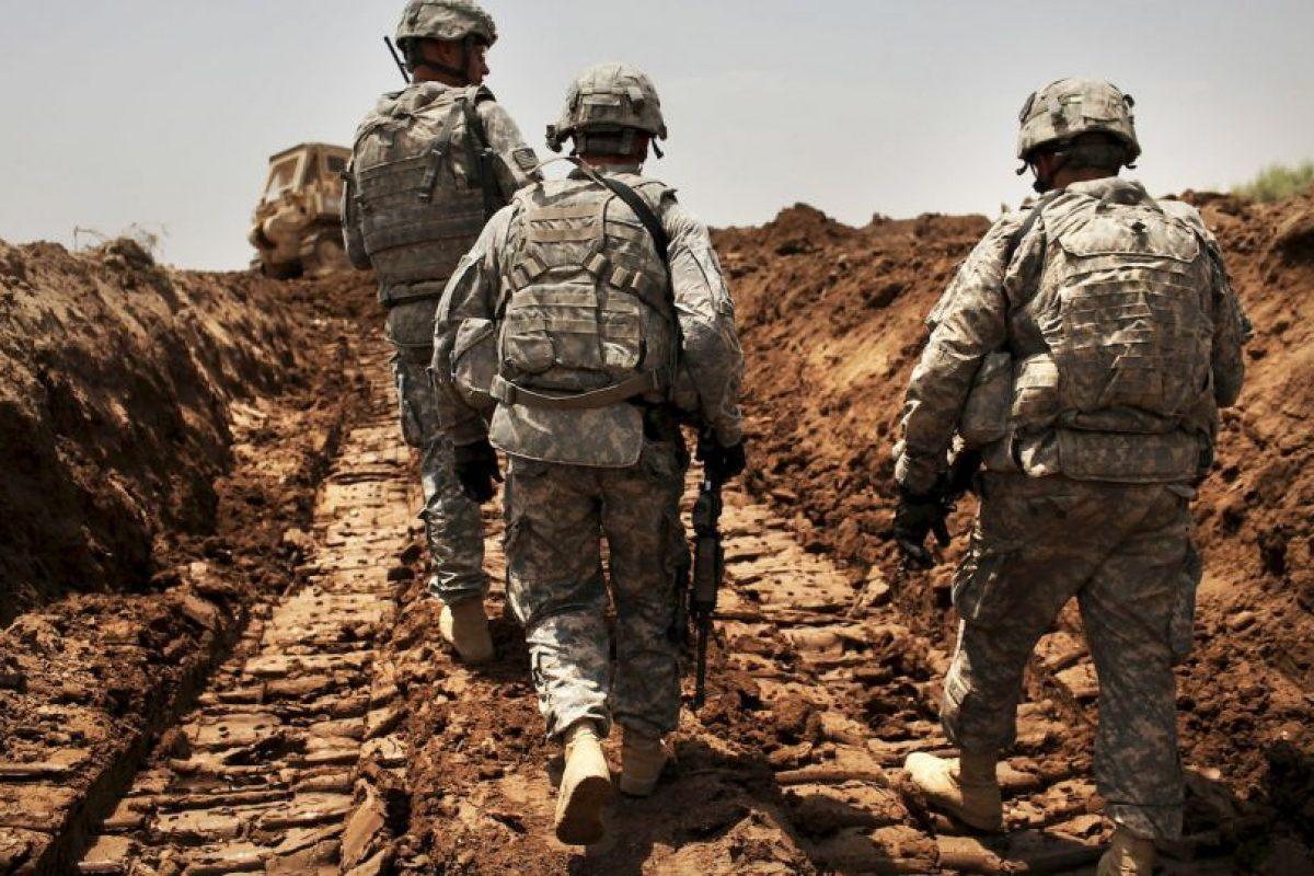 4. Entre los encuestados en general, más se oponen (49%) que los que aprueban (44%) el uso de las fuerzas terrestres estadounidenses en Irak y Siria. Foto:Getty Images. Imagen Por: