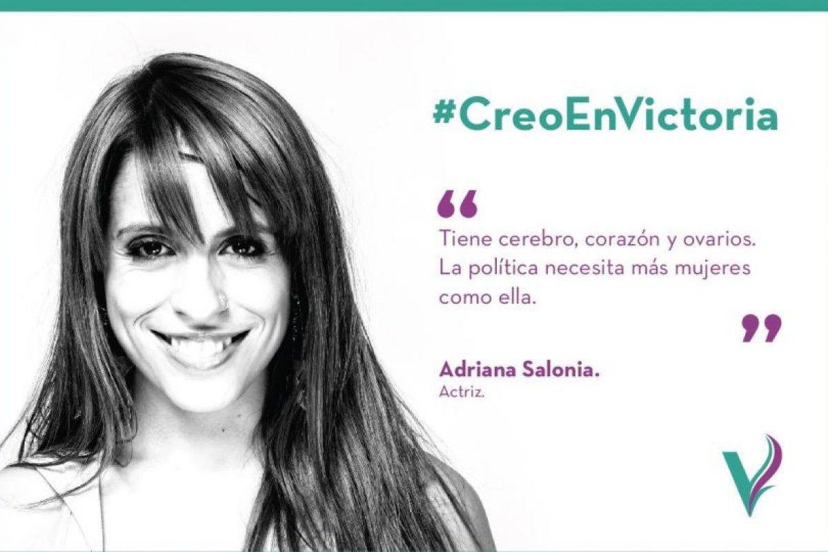 Actualmente se encuentra en campaña. Foto:Facebook.com/pages/Victoria-Donda-Pérez. Imagen Por: