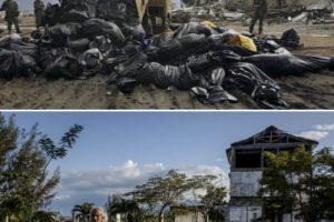Imágenes captadas en Bahía de Aceh, en Indonesia Foto:Getty Images. Imagen Por: