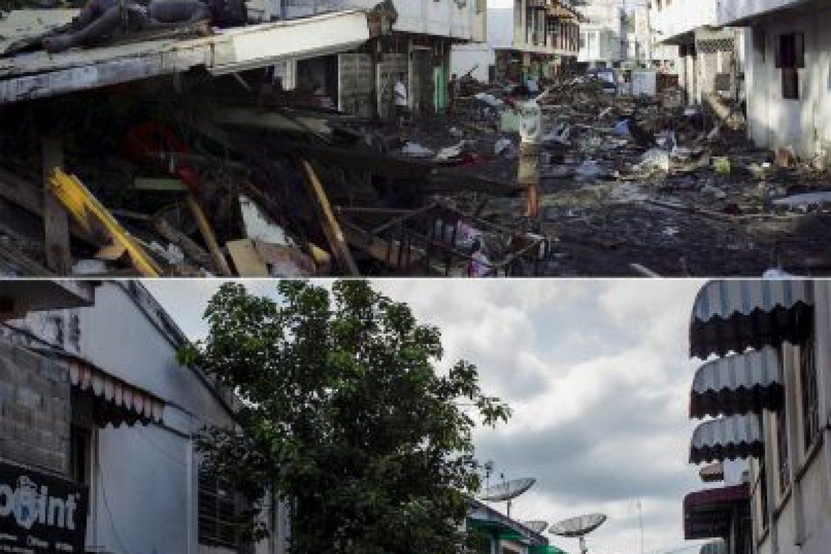 Las imágenes fueron captadas en 2014, a diez años de la tragedia Foto:Getty Images. Imagen Por: