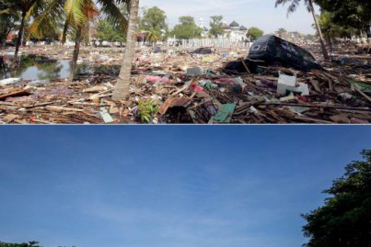 Otra perspectiva de Bahía de Aceh, Indonesia Foto:Getty Images. Imagen Por: