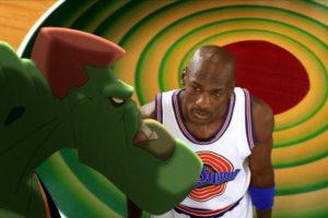 Los protagonistas fueron Michael Jordan y los personajes de los Looney Tunes. Foto:Getty Images. Imagen Por: