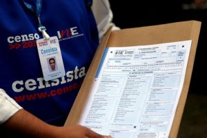 A) Realizar un censo en 2016 B) Realizar un pre censo en 2016 C) Realizar un censo en 2017 D) Realizar un pre censo en 2017 Foto:Agencia Uno. Imagen Por:
