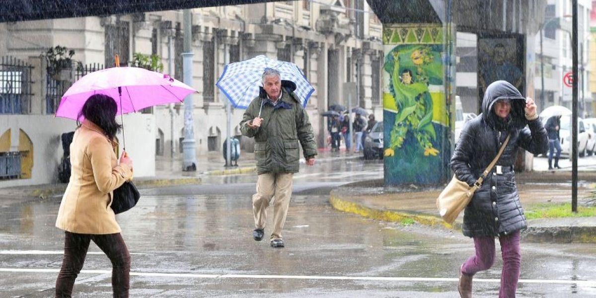 Alerta Amarilla por sistema frontal en Magallanes