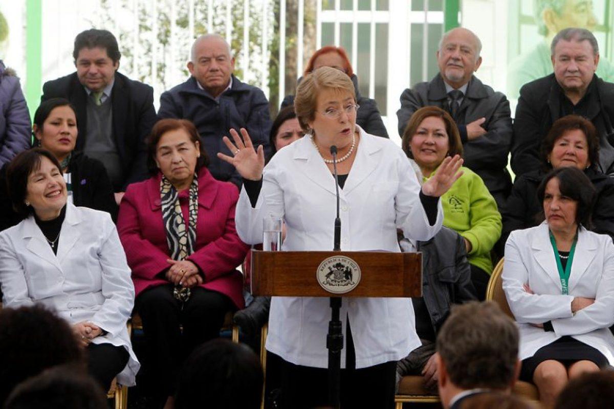 La Presidenta en el evento Foto:Agencia Uno. Imagen Por: