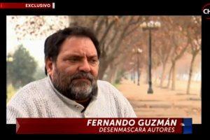"""Respuesta: C) Fernando Guzmán fue el ex conscripto que reveló nuevos detalles en el programa """"En la Mira"""" de Chilevisión Foto:Agencia Uno. Imagen Por:"""