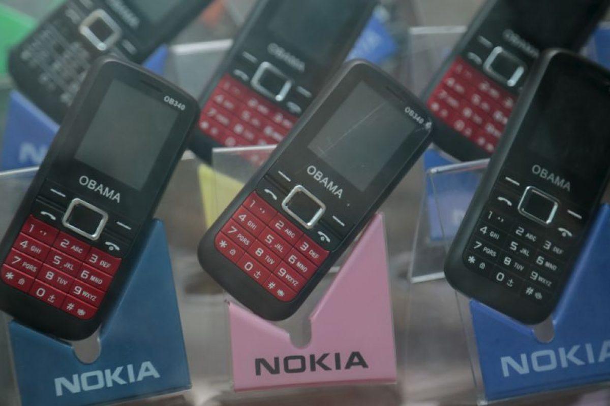 """E incluso hay teléfonos móviles """"Obama"""" Foto:AP. Imagen Por:"""