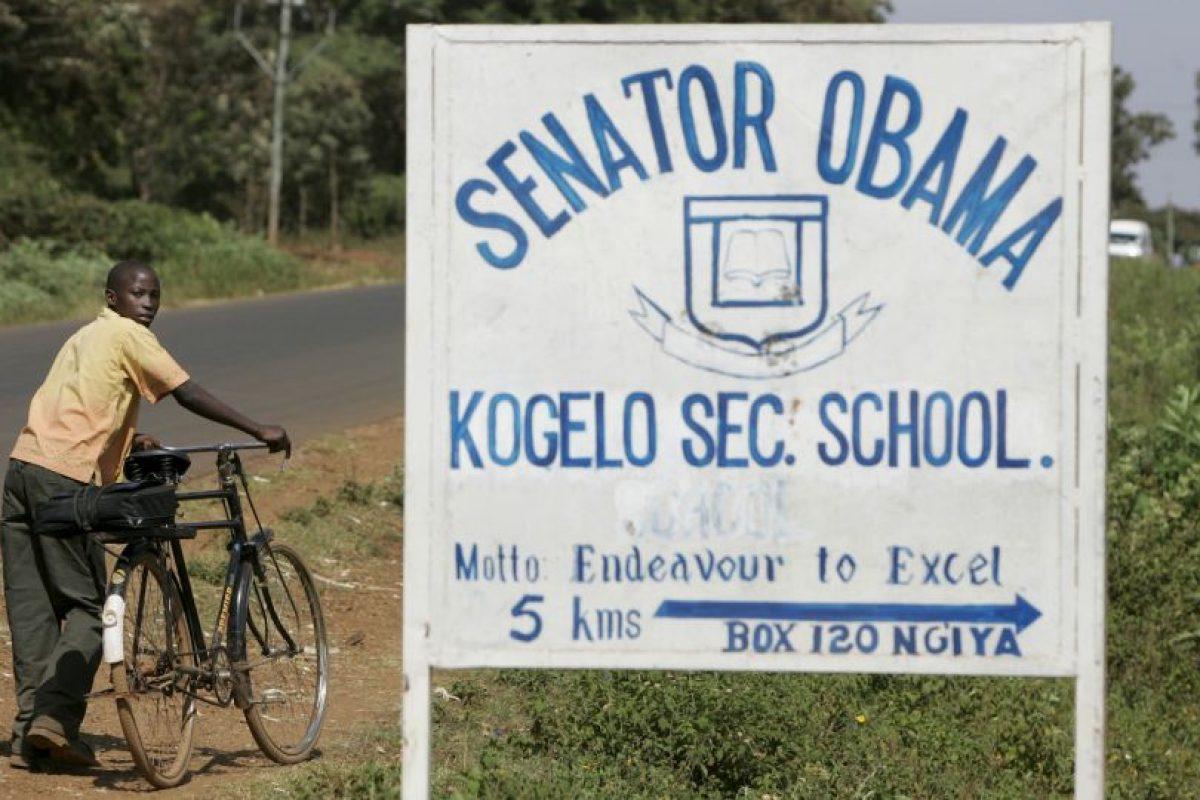 """Existe una escuela con el nombre """"Senador Obama"""" Foto:AP. Imagen Por:"""