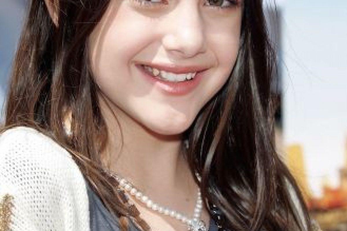 """Interpretó a """"Nicole Bristow"""", una de las mejores amigas de """"Zoey"""" y también una de las más vanidosas. Foto:Nickelodeon. Imagen Por:"""