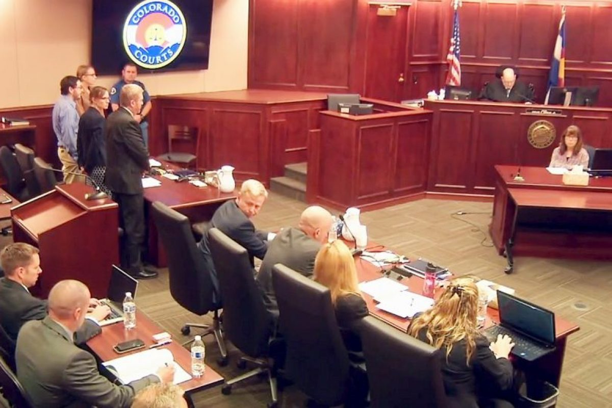 Los miembros del jurado están considerando la pena de muerte como una sentencia. Foto:AP. Imagen Por: