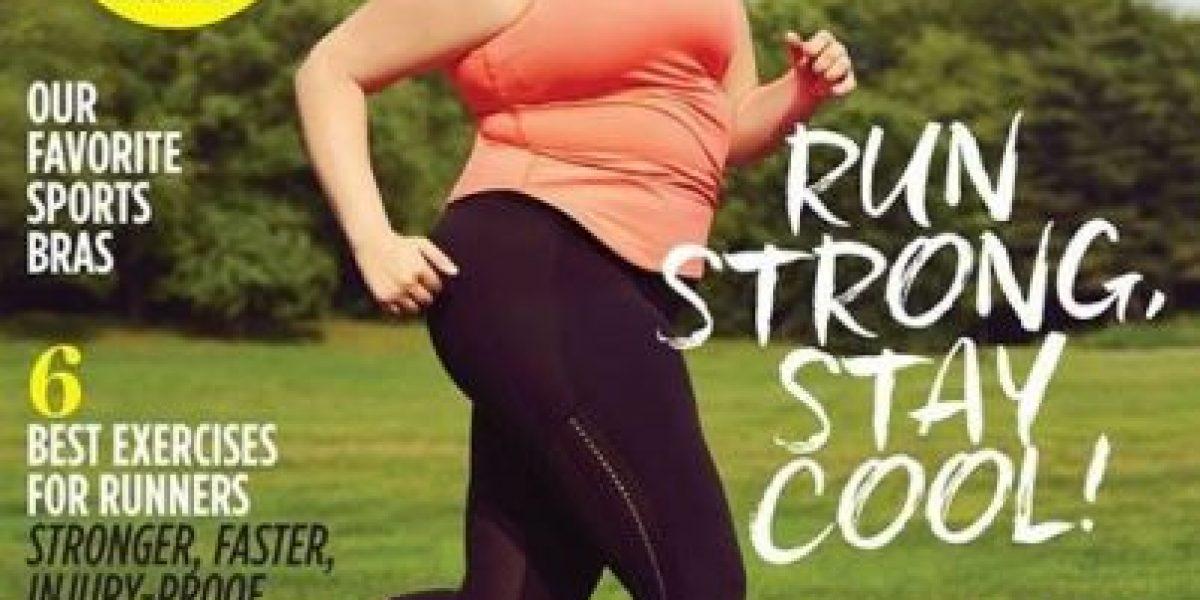 FOTOS: Revista fitness puso a mujer de talla grande en su portada y todos enloquecieron