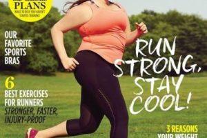 Women´s Running ha sido el primer medio fitness que hace historia al poner a una mujer plus size en su portada. Pero hubo una mujer antes que mostró que el deporte es para todos.. Imagen Por: