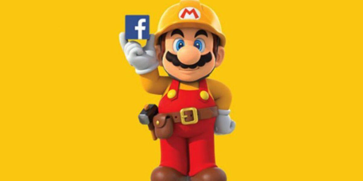 Nintendo y Facebook se unen para crear nuevos niveles de
