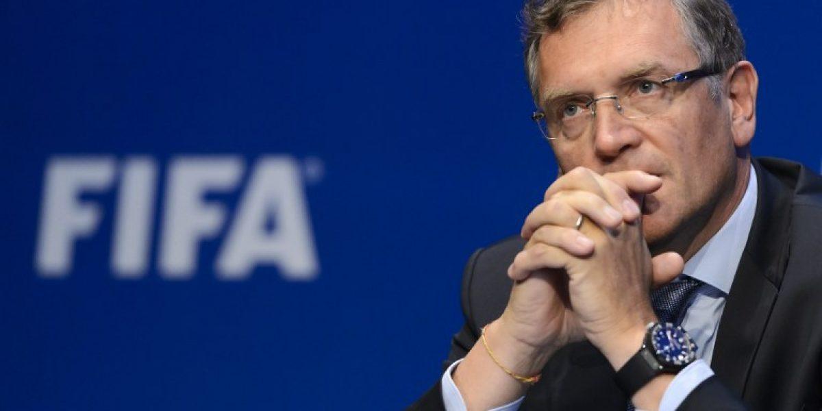 La irónica respuesta de Valcke, el número dos de la FIFA, ante las preguntas por corrupción