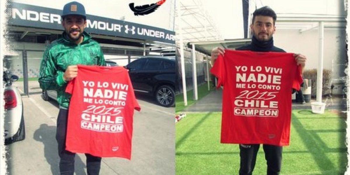 El homenaje de la marca de ropa de Jaime Valdés a los campeones de América