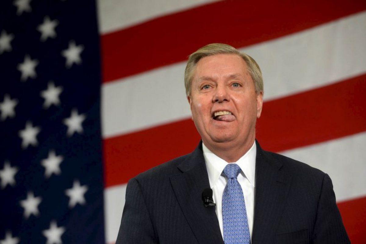 Este ha revelado los números de teléfonos personales del senador Lindsey Graham y del periodista Jorge Ramos. Foto:Getty Images. Imagen Por: