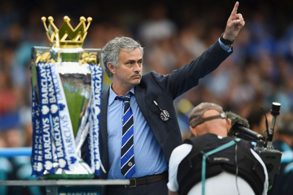 Entonces llegó a Chelsea donde vivió una época dorada al mando del equipo. Foto:Getty Images. Imagen Por: