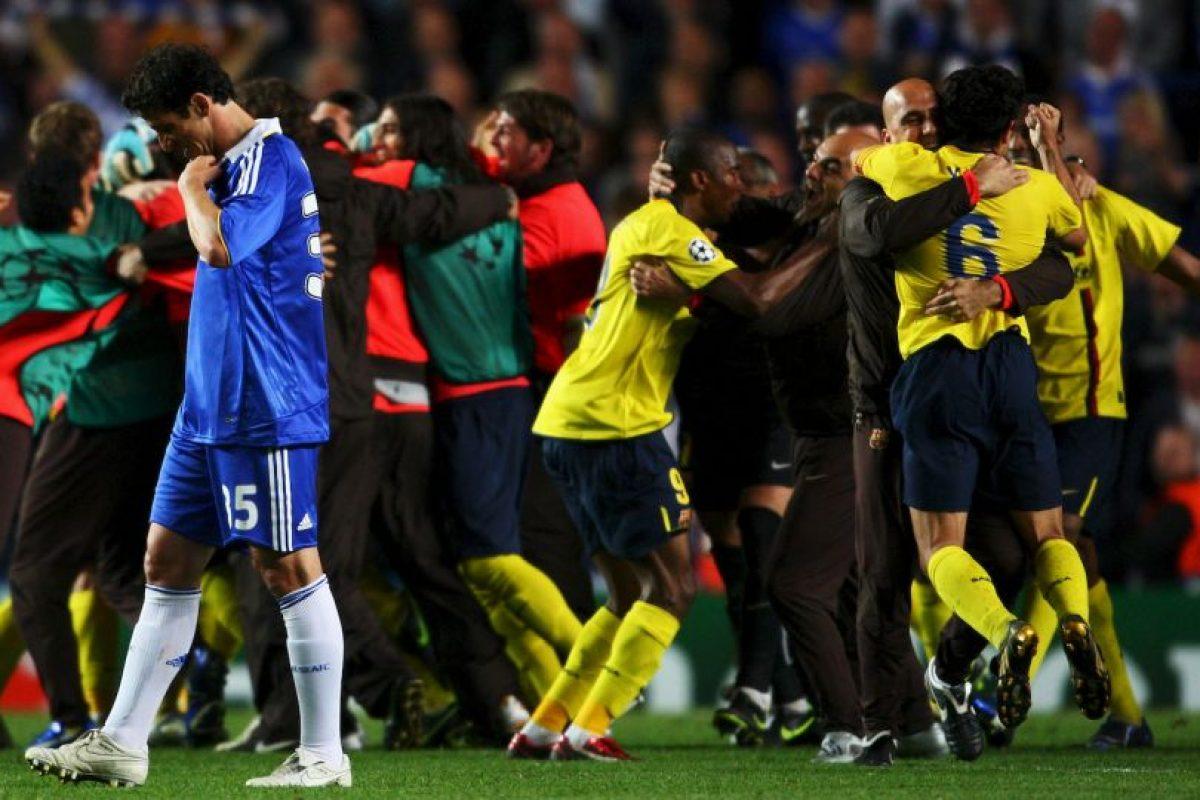 3. Chelsea vs. Barcelona Foto:Getty Images. Imagen Por: