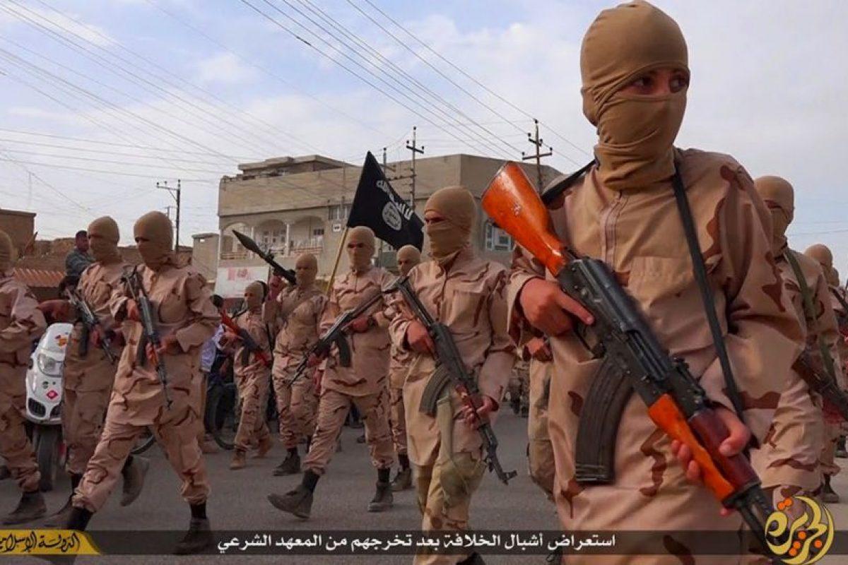 ISIS hizo público el video. Foto:AP. Imagen Por: