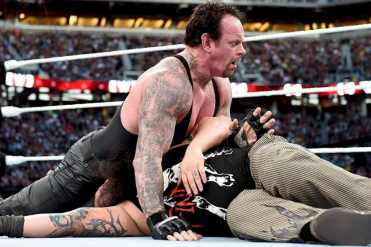 4. A pesar de tener 50 años, aún se mantiene en forma Foto:WWE. Imagen Por: