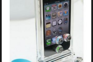 Las fundas o bolsas cerradas herméticamente serán ideales para proteger al teléfono de salpicaduras Foto:Scuba Case. Imagen Por: