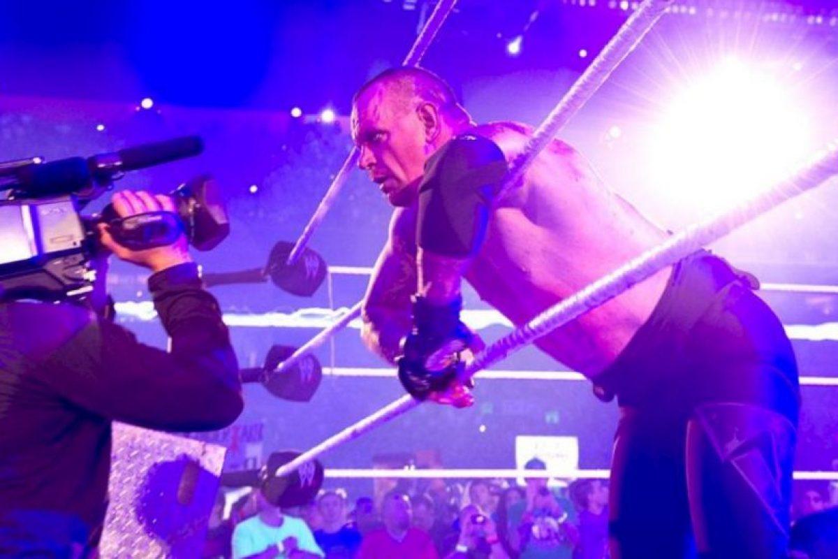5. Es el hombre más ganador en Wrestlemania Foto:WWE. Imagen Por:
