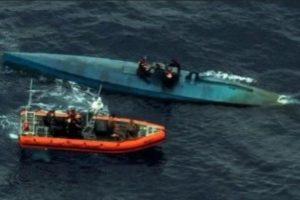 El narcosubmarino fue interceptado en costas de El Salvador. Foto:Vía cbp.gov. Imagen Por:
