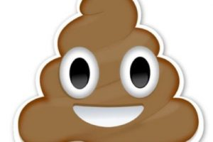Caquita o popó: En realidad se trataría de un helado de chocolate. Foto:Emojipedia. Imagen Por:
