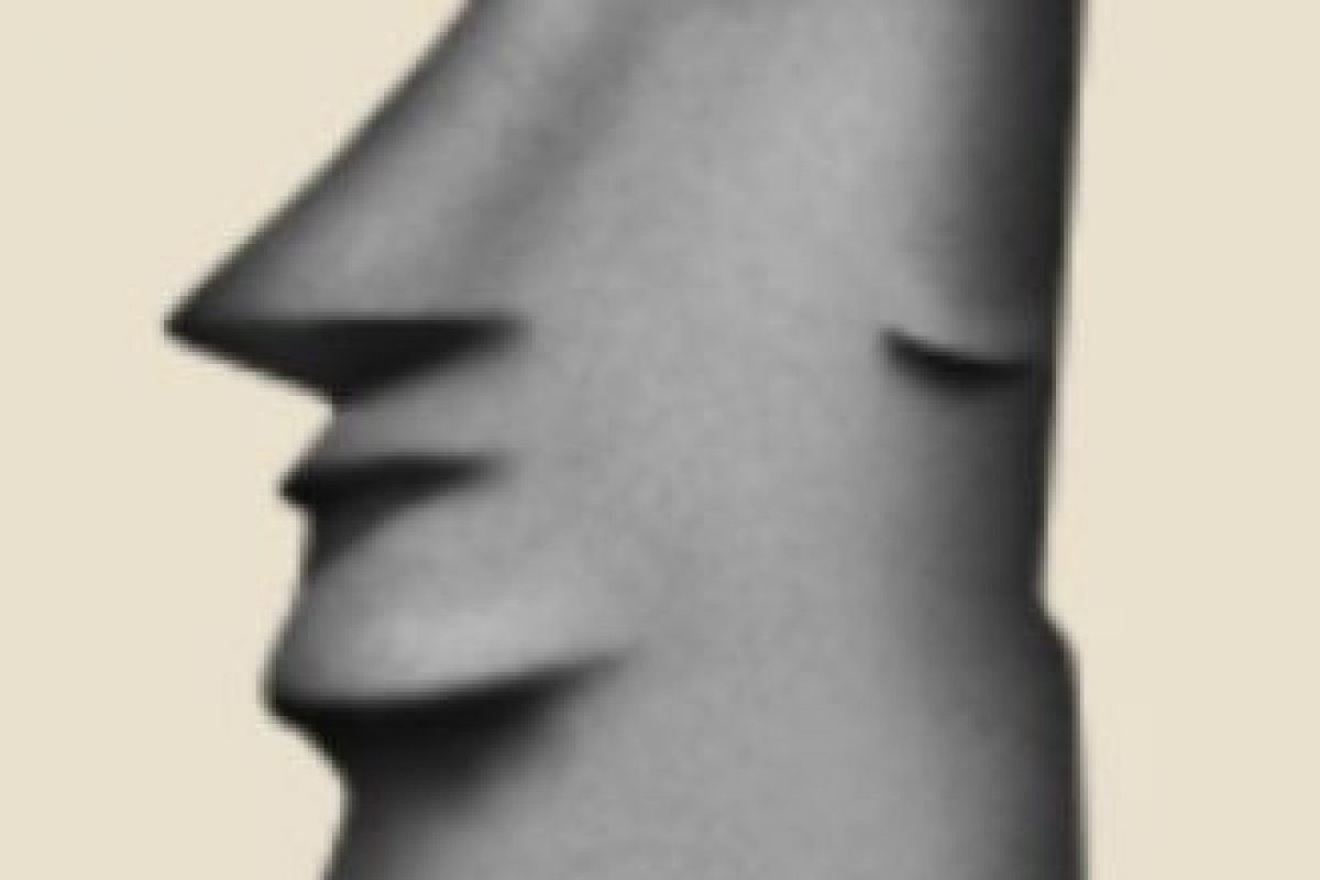 Isla de Pascua, Chile: Parece una cabeza de la popular isla, pero en realidad es una escultura ubicada en el Moyai, Toki, Japón. Foto:Emojipedia. Imagen Por: