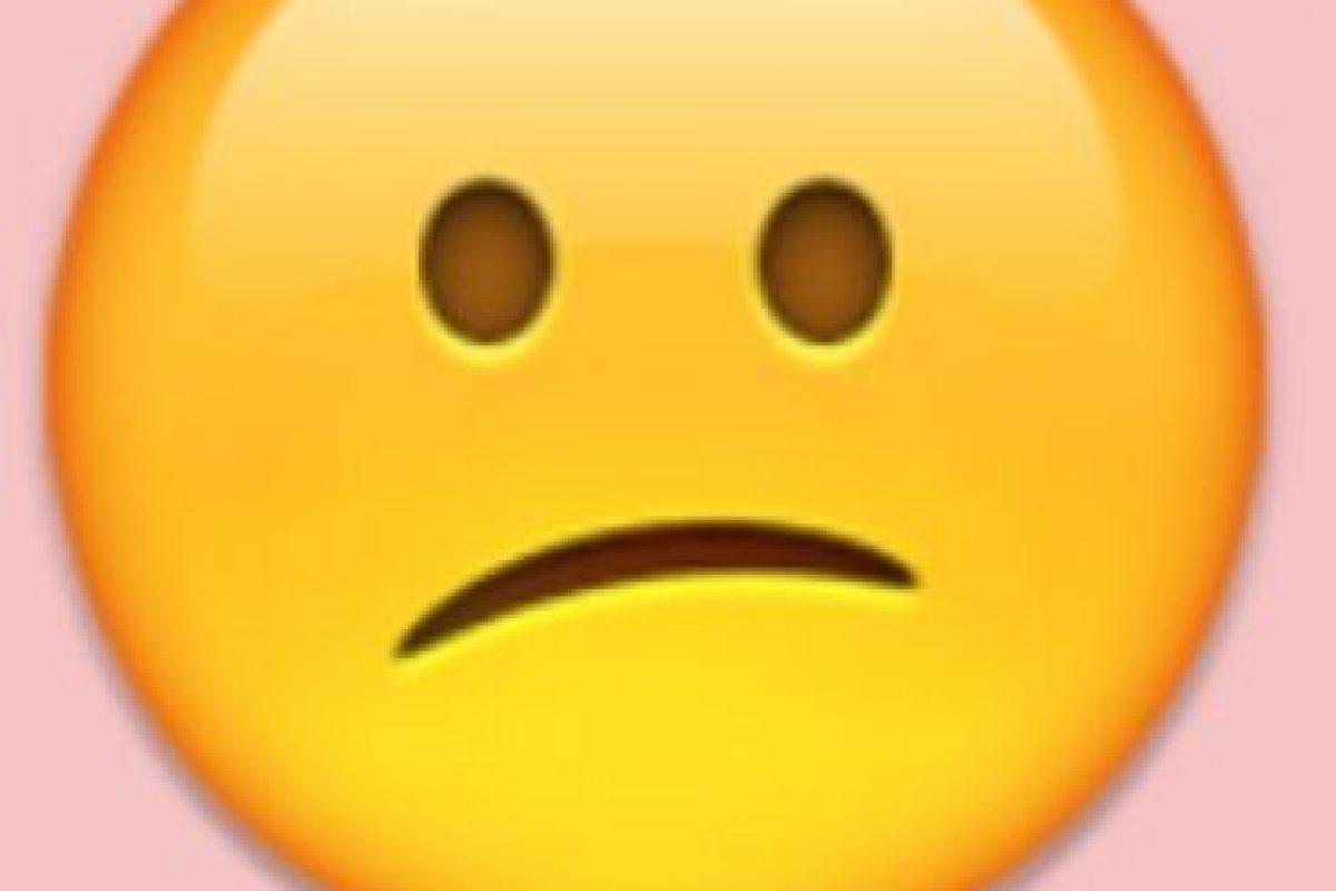 Decepción o tristeza: Pero se debe emplear para expresar confusión. Foto:Emojipedia. Imagen Por: