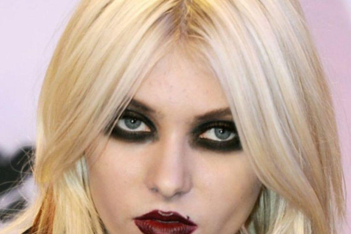 """Taylor Momsen y su look de Marilyn Manson """"wannabe"""". Foto:vía Getty Images. Imagen Por:"""