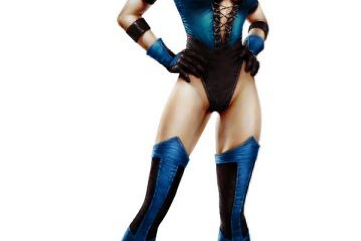 """La princesa """"Kitana"""" es una mujer muy atractiva, posiblemente la más atractiva del universo """"Mortal Kombat"""" Foto:Midway Games. Imagen Por:"""