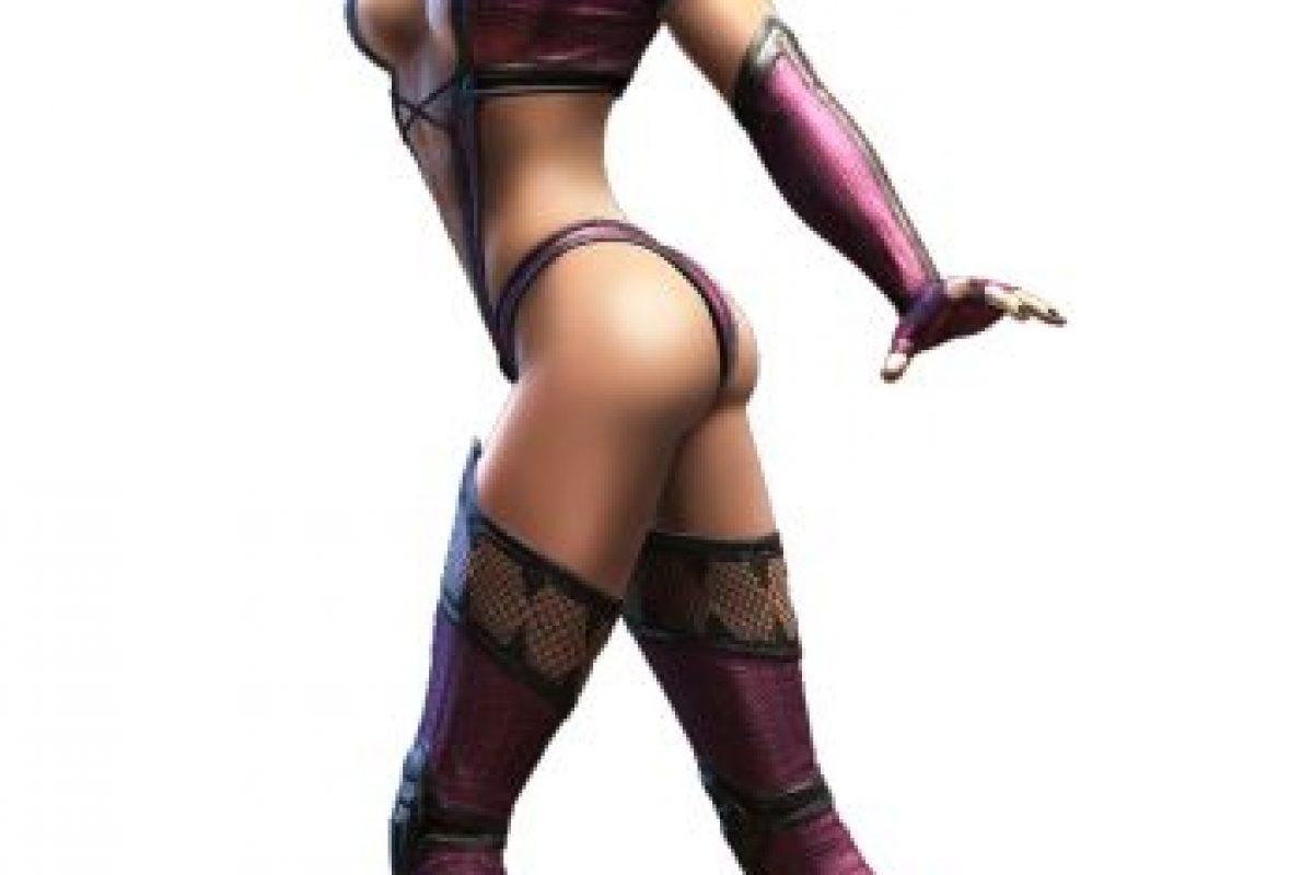 """""""Mileena"""" es un clon de """"Kitana"""" (también incluida en esta lista) creado con ayuda de la brujería en la historia de """"Mortal Kombat"""" Foto:Midway Games. Imagen Por:"""