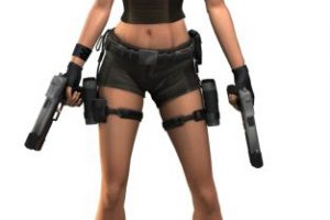 """""""Lara Croft"""" es sin duda un personaje que cambió el estatus femenino en el universo de los juegos virtuales Foto:Core Design / Eidos Interactive. Imagen Por:"""
