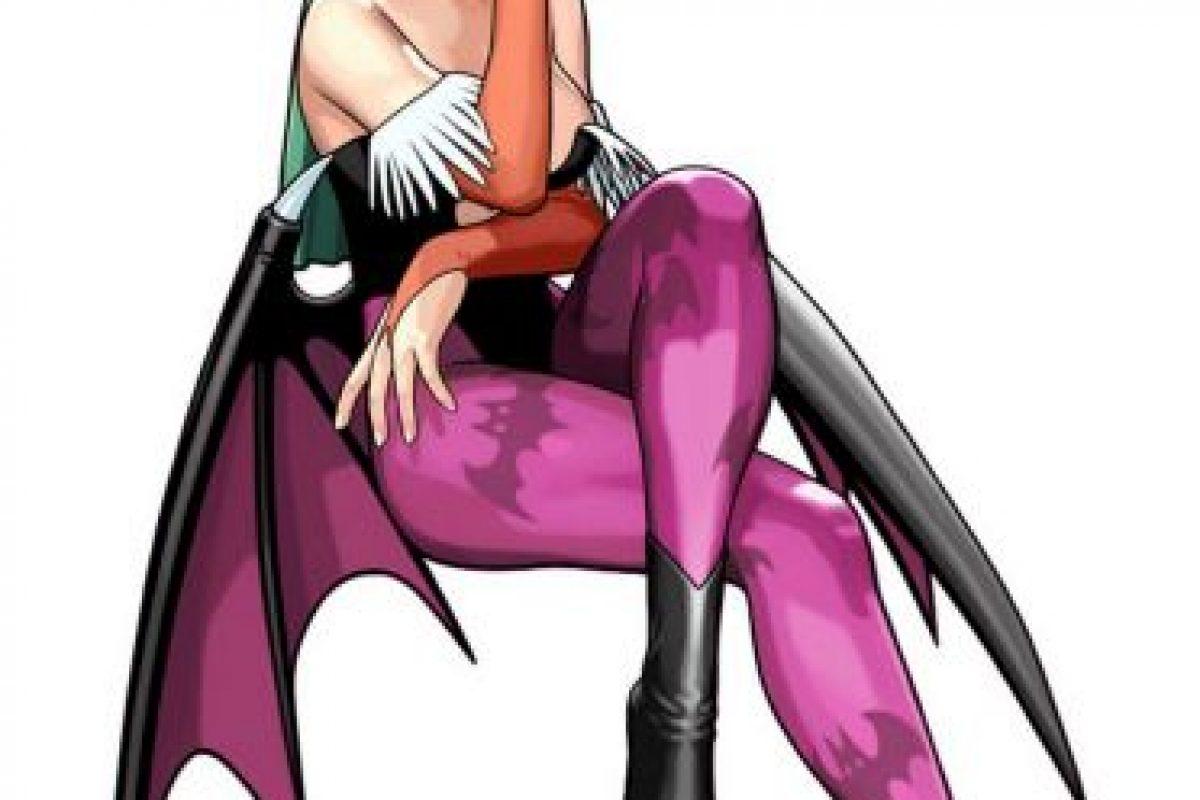 """""""Morrigan"""", también conocida como Morrigu, es la diosa celta de la muerte y la destrucción Foto:Capcom. Imagen Por:"""