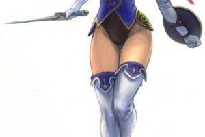 """Cassandra Alexandra"" pertenece al universo del juego ""Soul"" (alma) Foto:Namco. Imagen Por:"