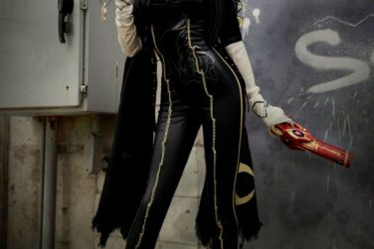 """La desarrolladora del título aseguró que que las proporciones son de """"Bayonnetta"""" perfectamente normales, ya que el personaje fue creado tomando como modelo a mujeres reales Foto:Wikia. Imagen Por:"""