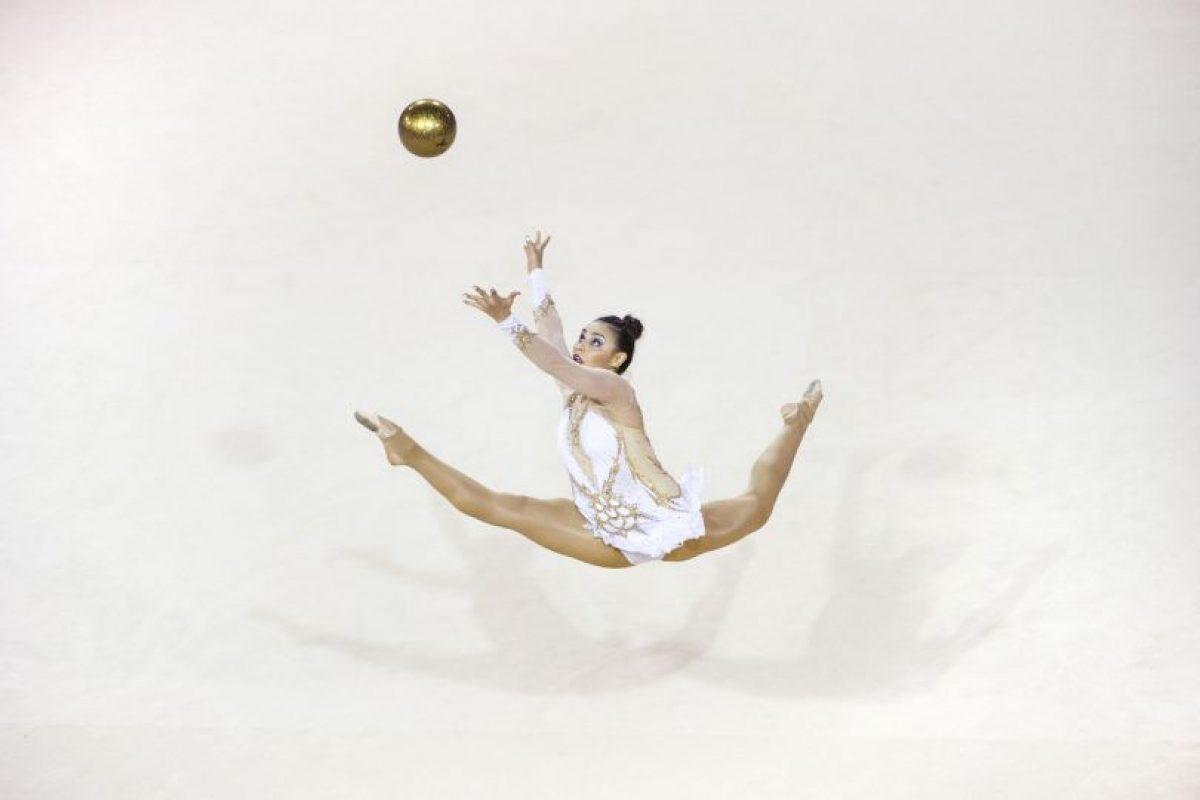 La gimnasta Rut Castillo de Cuba en los Juegos Panamericanos 2015. Foto:AFP. Imagen Por: